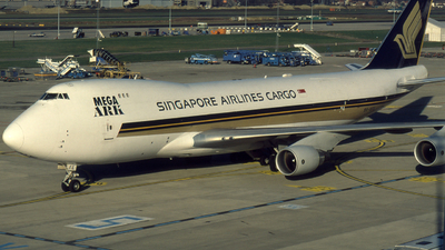 9V-SFE - Boeing 747-412F(SCD) - Singapore Airlines Cargo