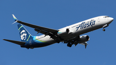 A picture of N283AK - Boeing 737990(ER) - Alaska Airlines - © Huy Do
