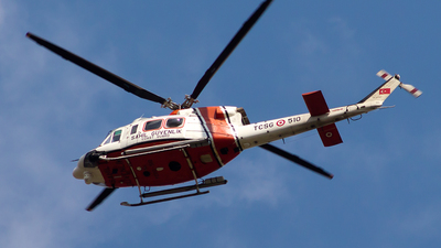 TCSG-510 - Agusta-Bell AB-412EP - Turkey - Coast Guard