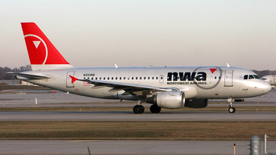 N333NB - Airbus A319-114 - Northwest Airlines
