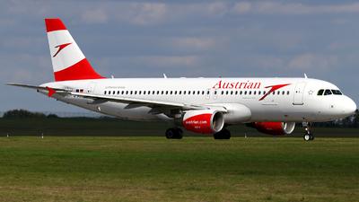 D-ABZJ - Airbus A320-216 - Austrian Airlines