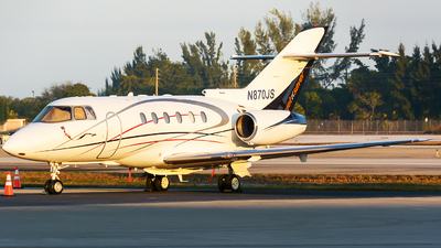 N870JS - Hawker Beechcraft 800XP - Go2Jets