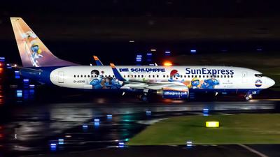 D-ASXB - Boeing 737-8Z9 - SunExpress Germany