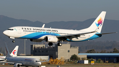A picture of B7630 - Boeing 73783Z - Donghai Airlines - © lihutao