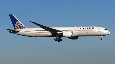 N38955 - Boeing 787-9 Dreamliner - United Airlines