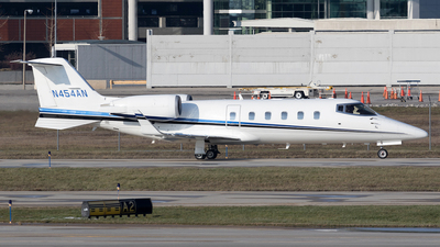 N454AN - Bombardier Learjet 60 - Private