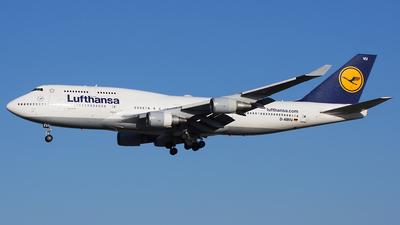 A picture of DABVU - Boeing 747430 - Lufthansa - © Karsten S.