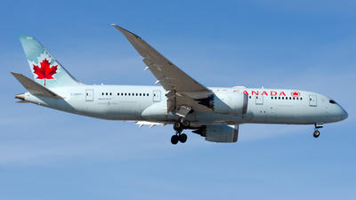 A picture of CGHQY - Boeing 7878 Dreamliner - Air Canada - © Wayne Wilson