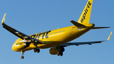 A picture of N651NK - Airbus A320232 - Spirit Airlines - © Conor Clancy