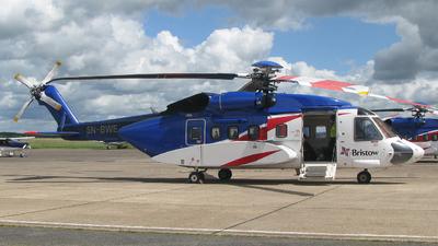 5N-BWE - Sikorsky S-92A Helibus - Bristow Nigeria