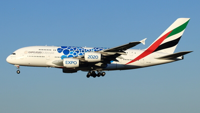 A picture of A6EOD - Airbus A380861 - Emirates - © NRT Spotter