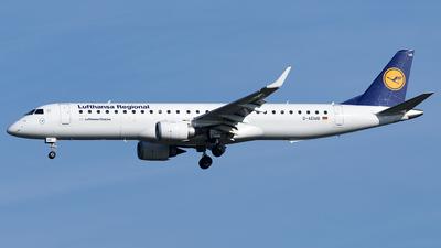 D-AEMB - Embraer 190-200LR - Lufthansa Regional (CityLine)
