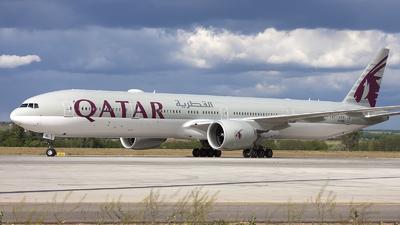 A picture of A7BEL - Boeing 7773DZ(ER) - Qatar Airways - © if