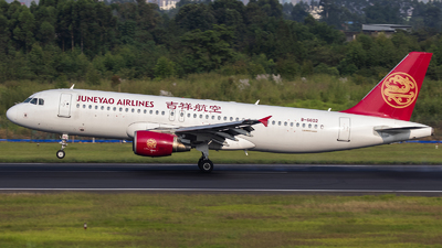 A picture of B6602 - Airbus A320214 - Juneyao Airlines - © Amyritter-Lv