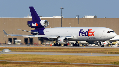 A picture of N615FE - McDonnell Douglas MD11F - FedEx - © JC