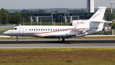 3A-MGA - Dassault Falcon 7X - Monaco - Government