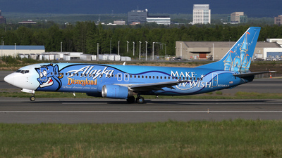 N706AS - Boeing 737-490 - Alaska Airlines