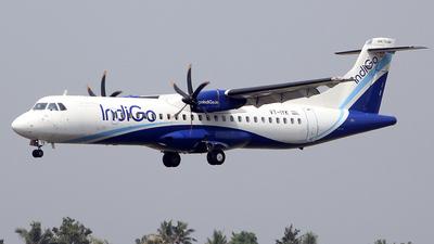 A picture of VTIYK - ATR 72600 - IndiGo - ©  Rohit  Ramachandran