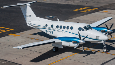 ZS-PPG - Beechcraft 200 Super King Air - Private