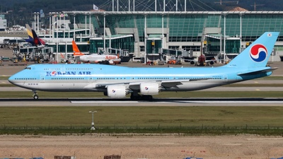 HL7644 - Boeing 747-8B5 - Korean Air