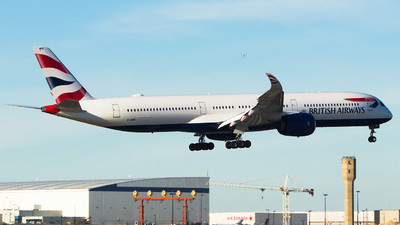 G-XWBB - Airbus A350-1041 - British Airways