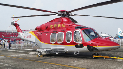 B-70JA - Agusta-Westland AW-139 - Sichuan Tuofeng General Avation
