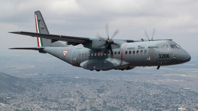 3206 - CASA C-295M - Mexico - Air Force