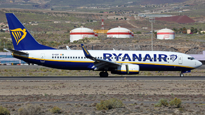 EI-EBY - Boeing 737-8AS - Ryanair