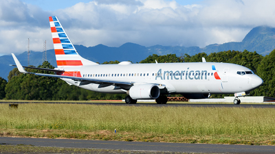 A picture of N971AN - Boeing 737823 - American Airlines - © Franz Galli