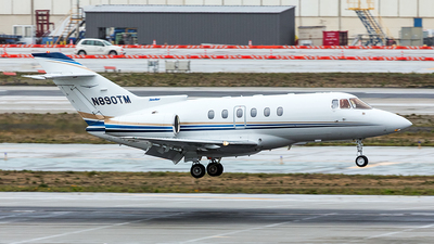 N890TM - Raytheon Hawker 800XP - Private
