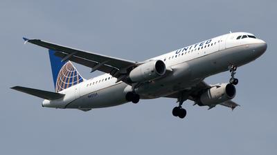 N457UA - Airbus A320-232 - United Airlines