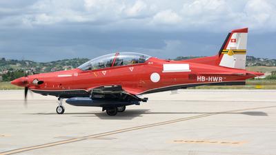 A picture of HBHWR - Pilatus PC21 -  - © Luigi Orlandi