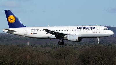 D-AIPT - Airbus A320-211 - Lufthansa
