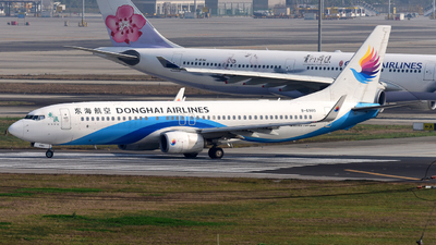 A picture of B6980 - Boeing 73783Z - Donghai Airlines - © F3E1988