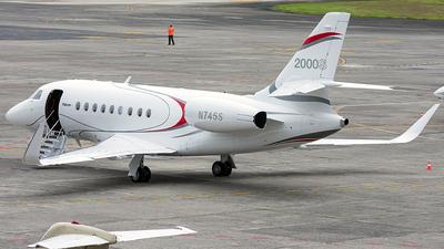 N745S - Dassault Falcon 2000S - Private