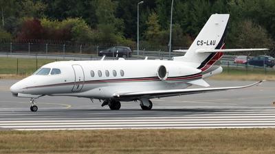 A picture of CSLAU - Cessna 680A Citation Latitude - NetJets - © Eddie Heisterkamp