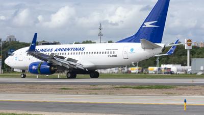 LV-CBT - Boeing 737-76N - Aerolíneas Argentinas