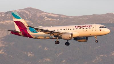 D-AEWU - Airbus A320-214 - Eurowings
