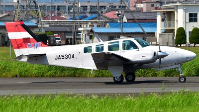 JA5304 - Beechcraft 58 Baron - Sojo University