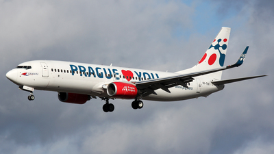 OK-TVX - Boeing 737-8Z9 - Travel Service