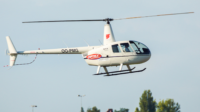 OO-PMG - Robinson R44 Raven - Paramount Helicopters