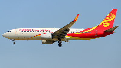 B-1547 - Boeing 737-84P - Hainan Airlines