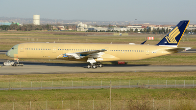 F-WZNL - Airbus A350-941 - Singapore Airlines