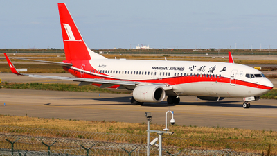 A picture of B1720 - Boeing 73786D - Shanghai Airlines - © TasKforce404-HK416