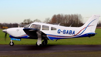 G-SABA - Piper PA-28R-201T Turbo Cherokee Arrow III - Private