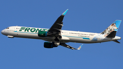 N717FR - Airbus A321-211 - Frontier Airlines