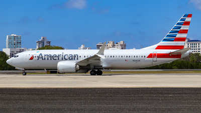 A picture of N336SR - Boeing 737 MAX 8 - American Airlines - © wilfredo torres