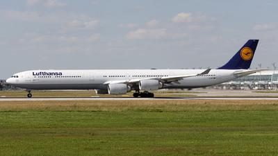 D-AIHZ - Airbus A340-642X - Lufthansa