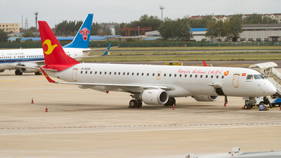 B-3235 - Embraer 190-200LR - Tianjin Airlines