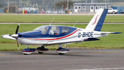 A picture of GBHDE - Socata TB10 Tobago - [58] - © mark p
